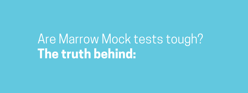 Are Marrow Mock tests tough? The truth behind - Marrow