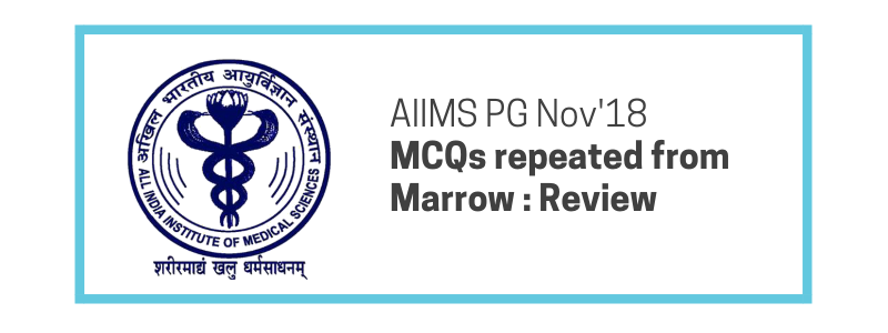 Nov AIIMS Questions (186/200) MCQs - Strike Rate from Marrow
